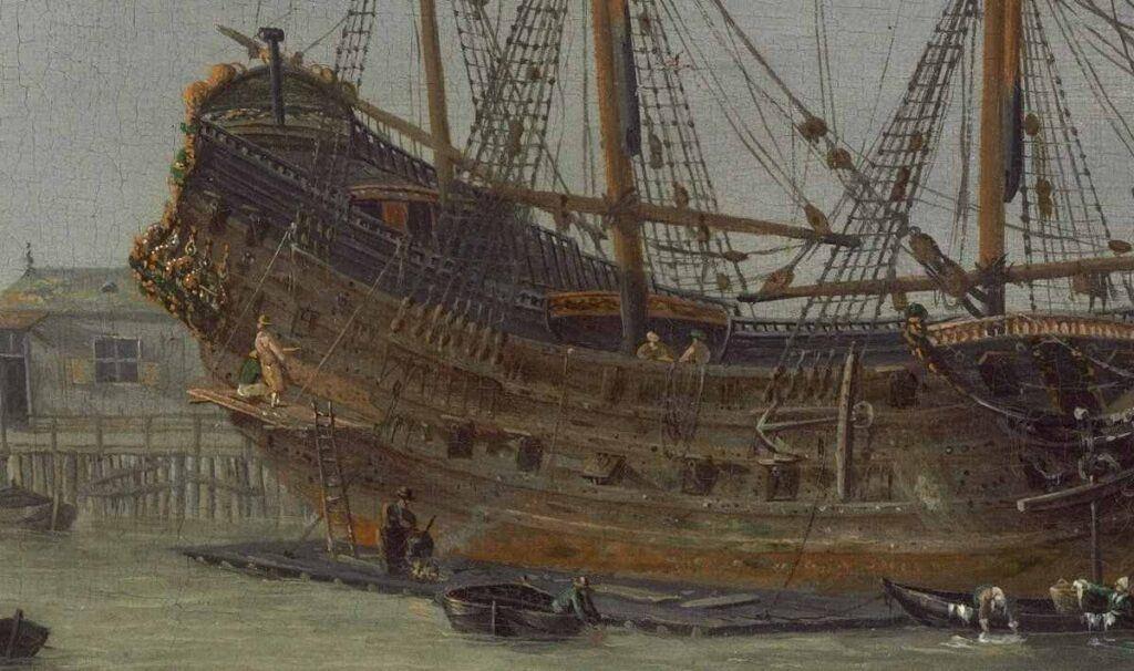Felemenk gemi yapımı