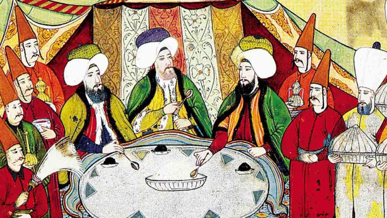 osmanlıda iftar sofraları