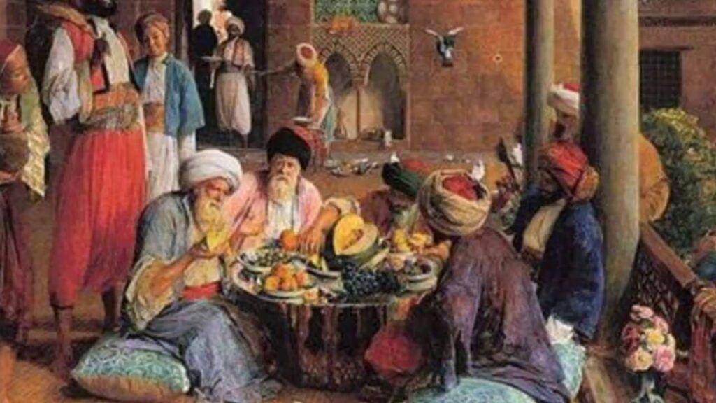 Osmanlıda ramazan sofraları