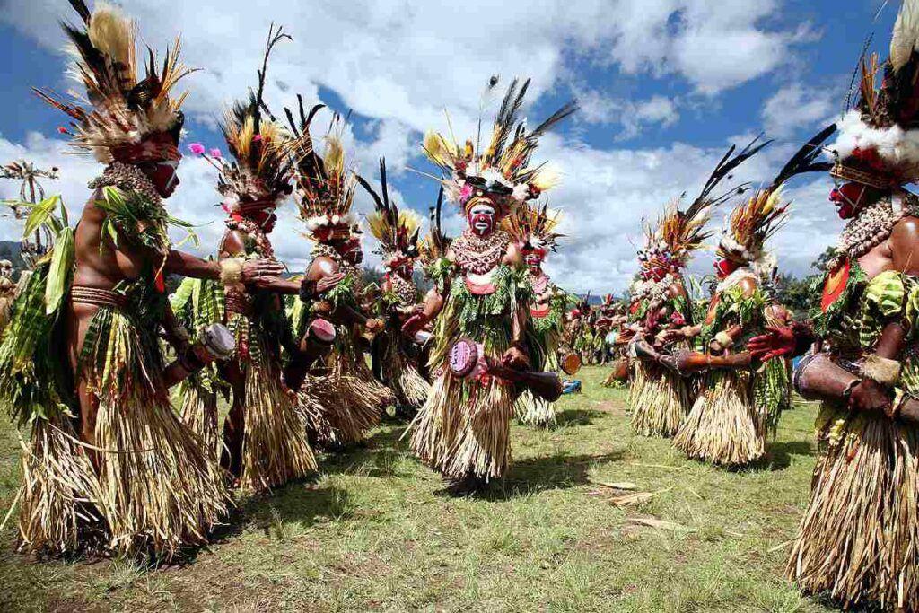 Goroka festivali papua yeni gine
