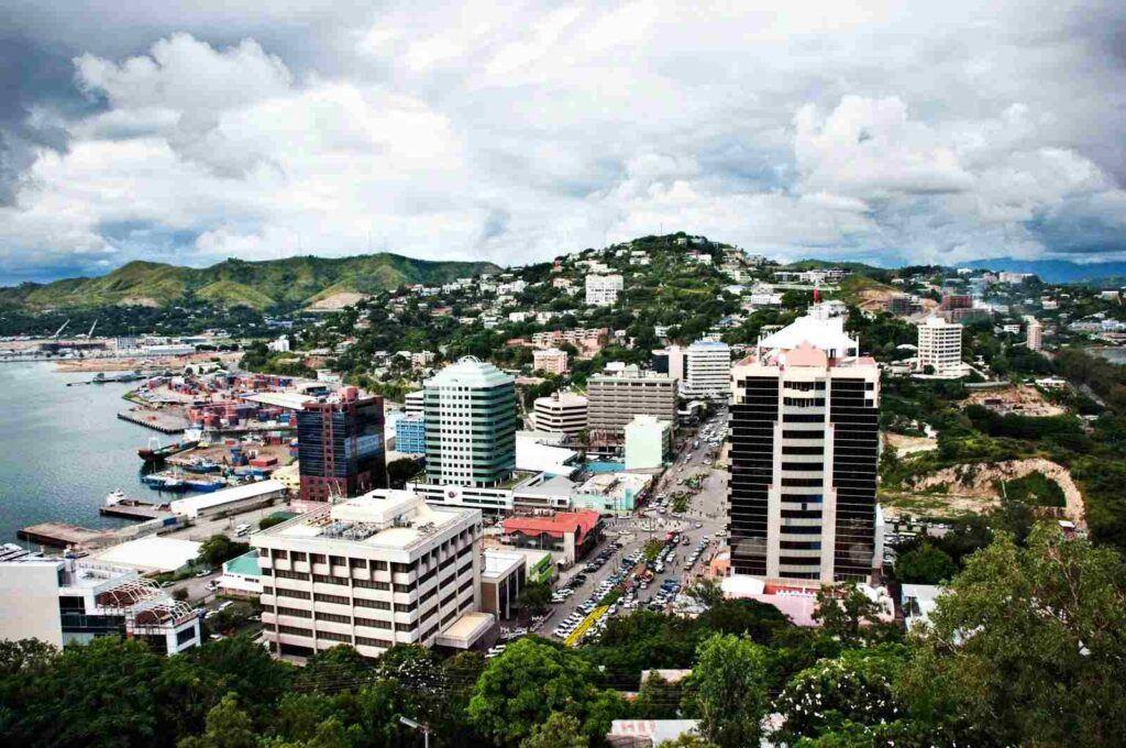 papua yeni gine başkenti port moresby