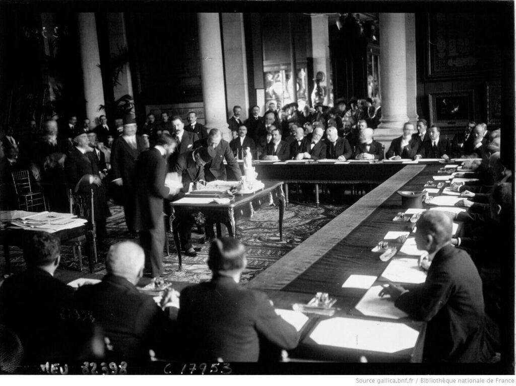 Lozan antlaşması imza töreni