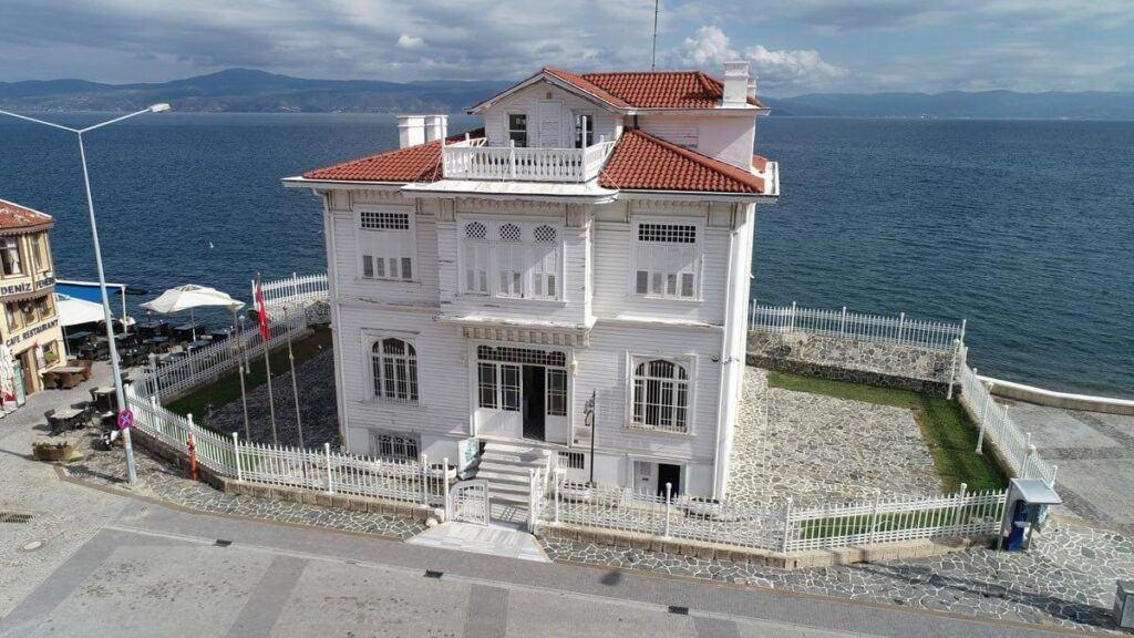 Mudanya antlaşmasının imzalandığı bina