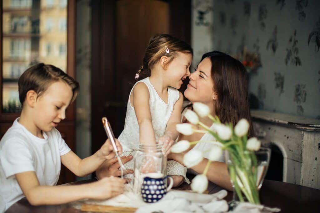 çocuklar ve ev hayatı