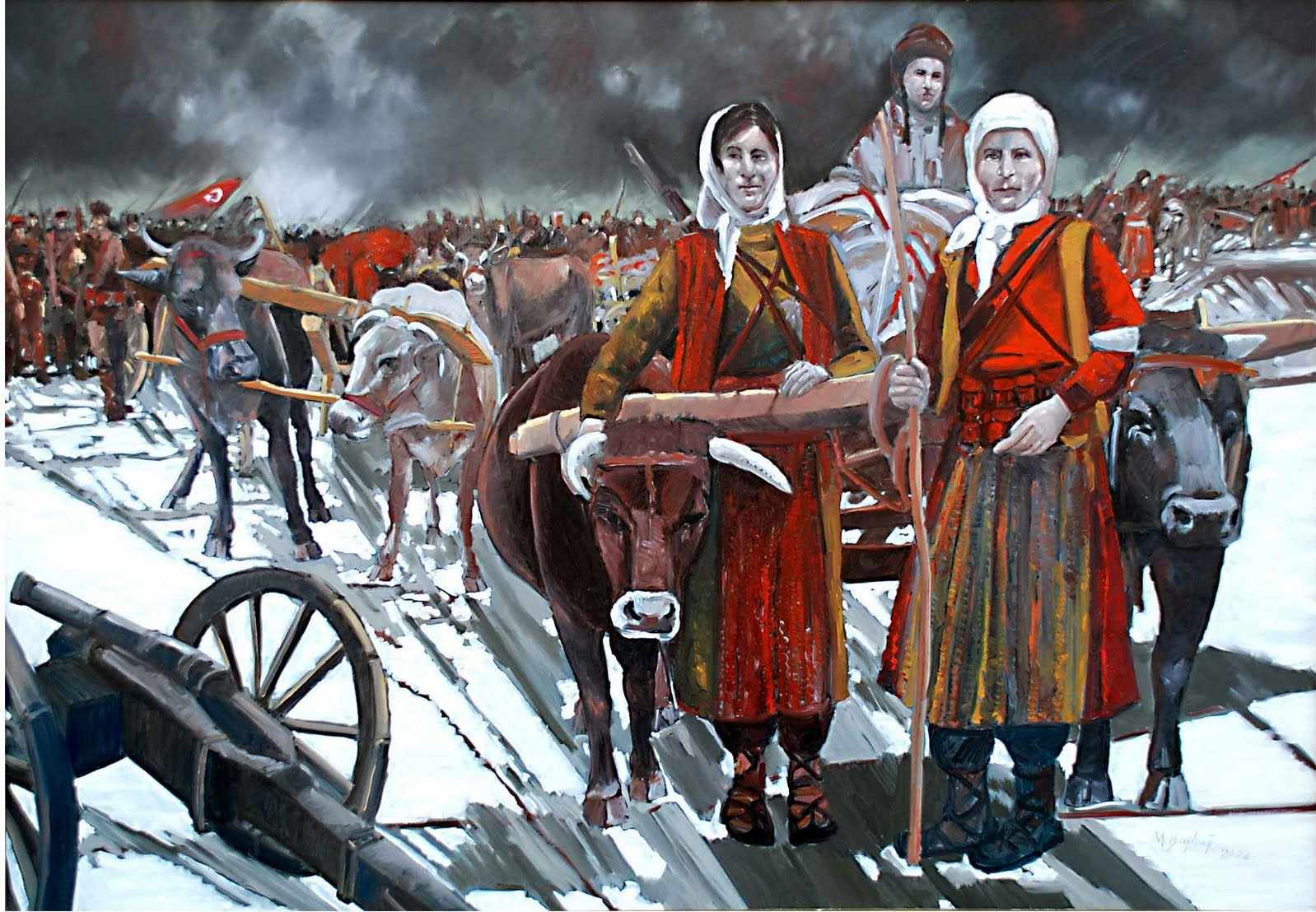 türk kadının kahramanlığı