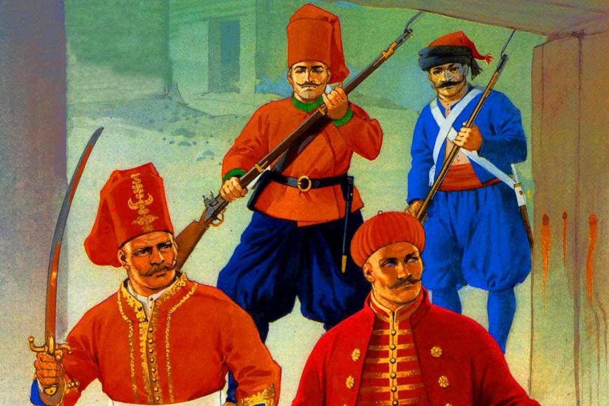 nizamı cedid döneminde askerler