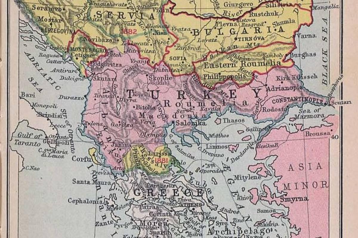Osmanlı Balkan toprakları