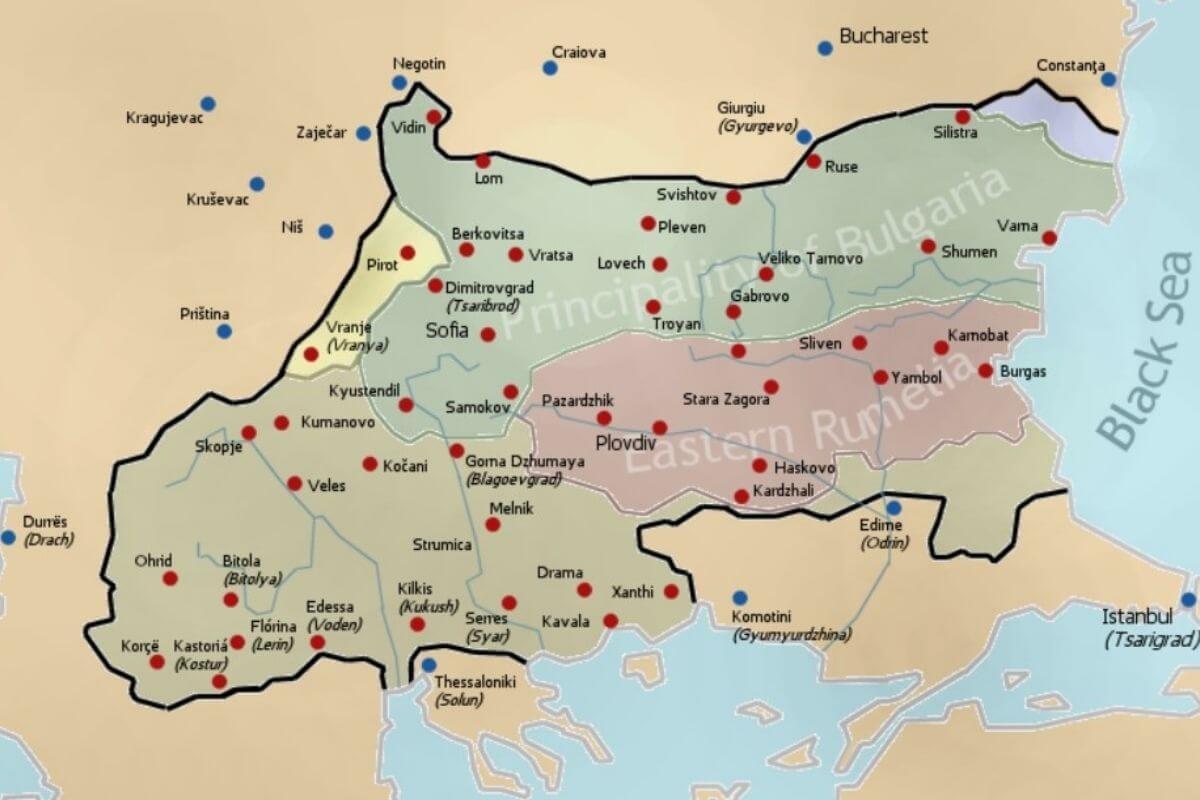 balkan sınırları
