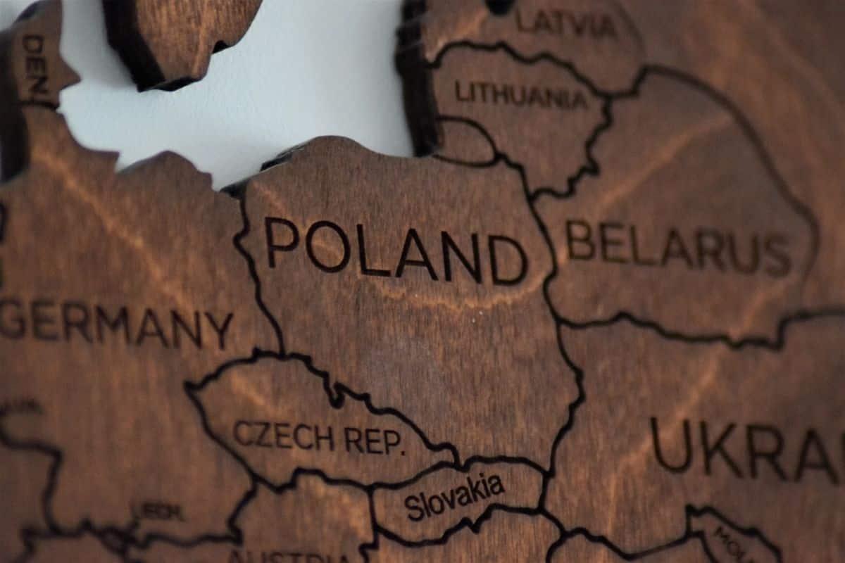 lehistan haritası
