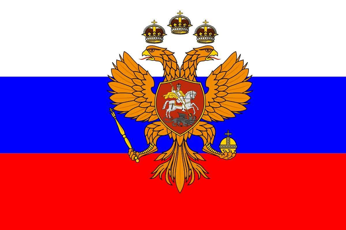 rus çarlığı bayrağı