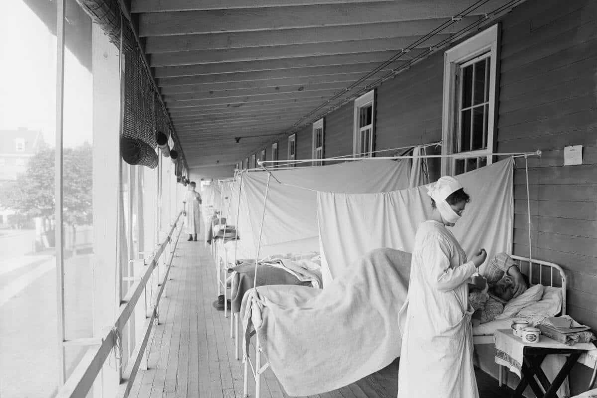 ispanyol gribi salgını sırasında grip koğuşu