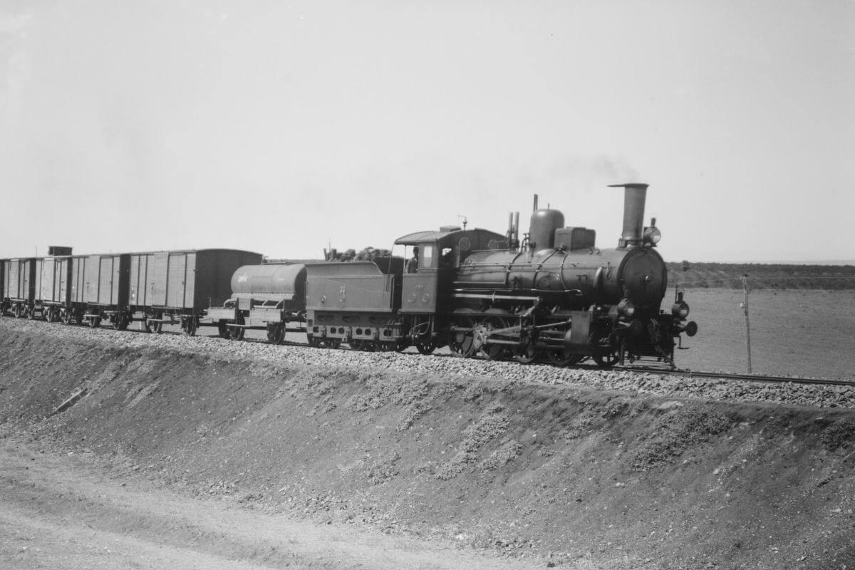 bağdat demiryolu hattı