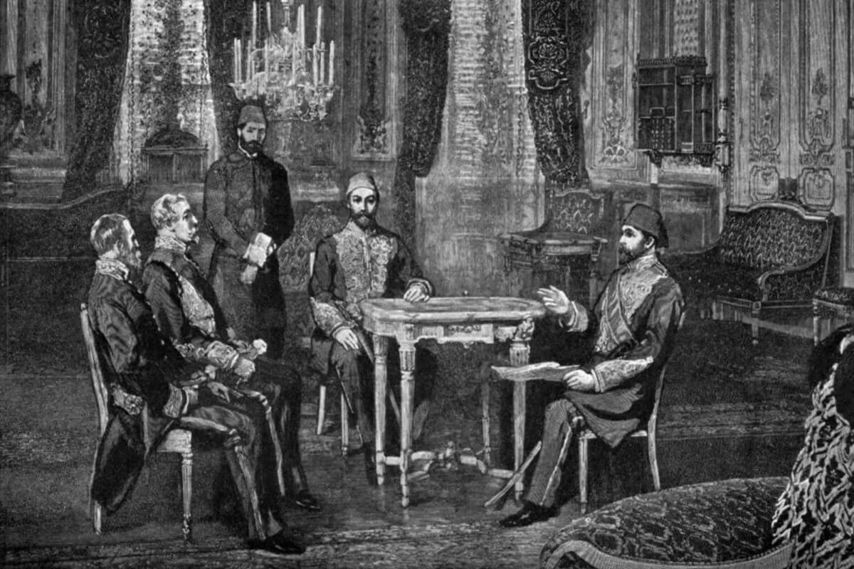 ingiliz büyükelçisi ve osmanlı padişahı