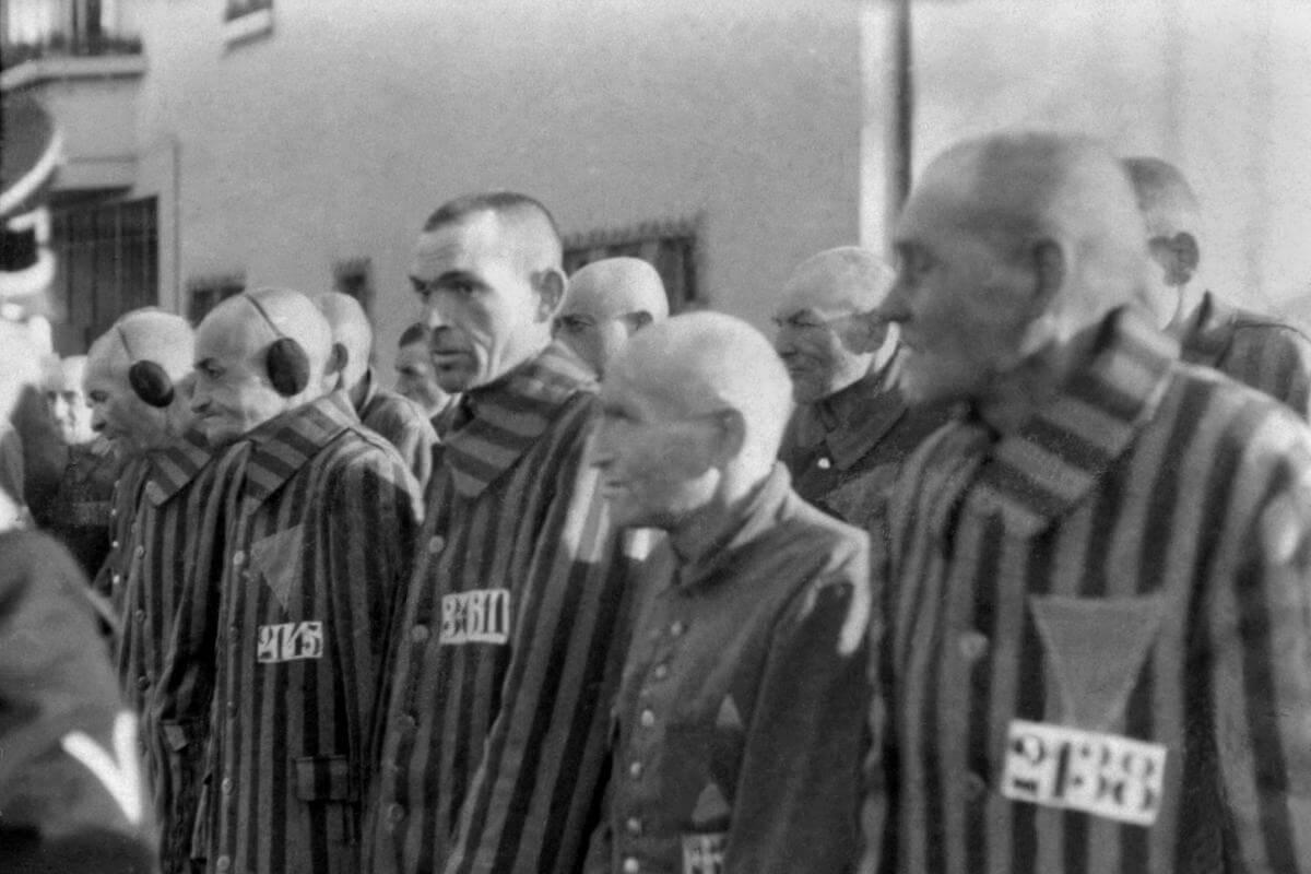 alman toplama kampındaki mahkumlar