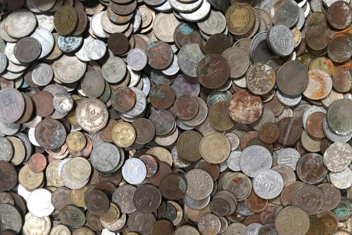 eski türk ve osmanlı lirası ve madeni para