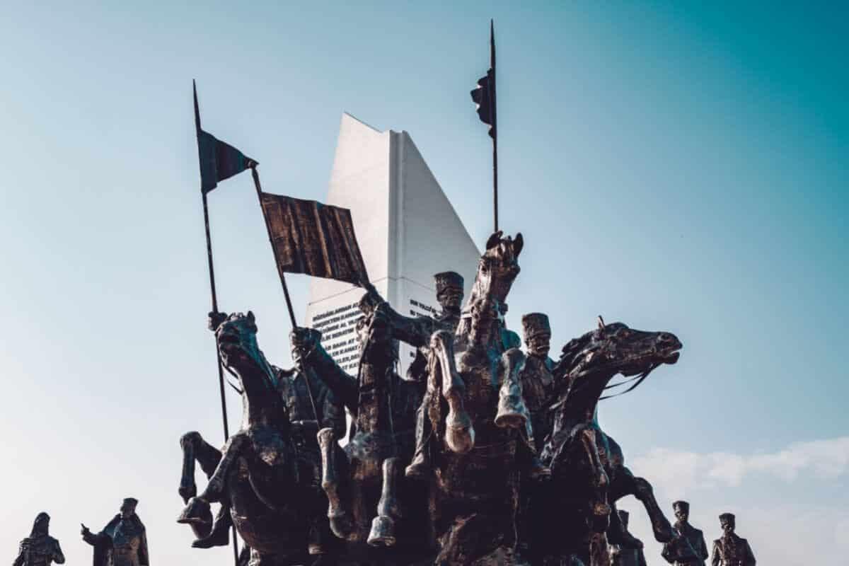 polatlı duatepe savaş anıtı
