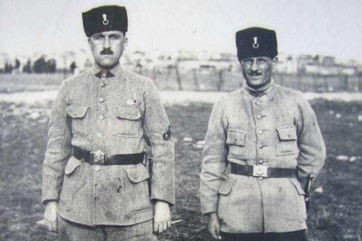hilafet ordusu subayları